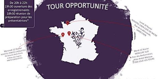 TOUR OPPORTUNITÉ OUEST - TOURS