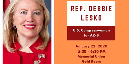 Welcome Congresswoman Debbie Lesko!