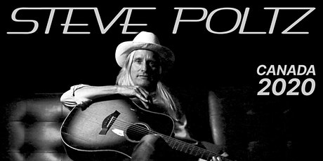 Steve Poltz ~ Canada Tour 2020 ~ Early Show tickets