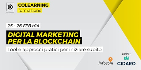 Digital Marketing per la Blockchain biglietti