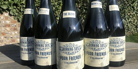 Burning Sky - Four Friends tutored tasting with Mark Tranter tickets