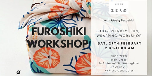 Furoshiki Eco-wrapping Workshop