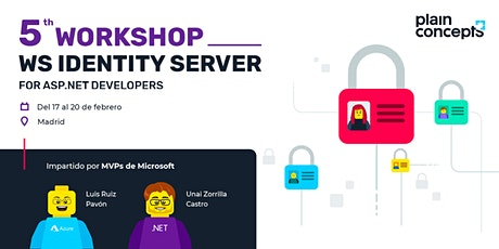 Workshop Identity Server for ASP.NET 3.1 Core Developers tickets