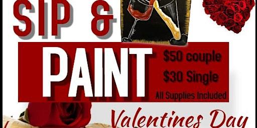 Valentine's Day Sip N' Paint