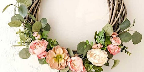 Spring Easter Wreath Workshop with Bubbles and Nibbles tickets