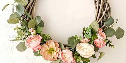 Spring Easter Wreath Workshop with Bubbles and Nibbles