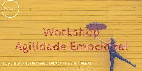 Workshop Agilidade Emocional - 9º Edição ingressos