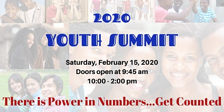 Youth Summit 2020 There is Power in Numbers...Get Counted tickets