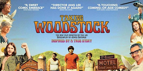 Futurist Cinema presents: Taking Woodstock tickets