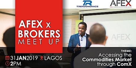 AFEX x Brokers Meet-Up tickets