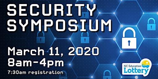 North Carolina Education Lottery Security Symposium