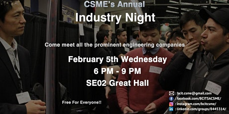 CSME Industry Night 2020 tickets