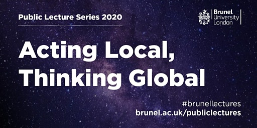 Public Lecture Series: Acting Local, Thinking Global  -  Climate Control