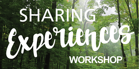 Sharing Experiences Workshop tickets