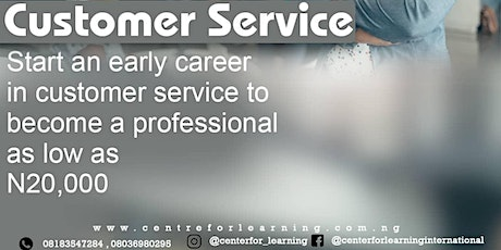 PATHWAY TO BECOMING A CUSTOMER SERVICE MANAGEMENT PROFESSIONAL tickets