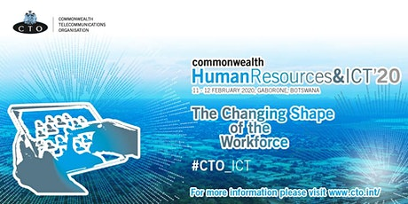 Commonwealth Human Resources & ICT Forum 2020 tickets