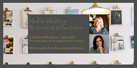 Media Mastery, the Secrets of Fallow to Fame tickets