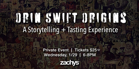 Orin Swift Origins Tasting: Wine and Art Come to Life tickets