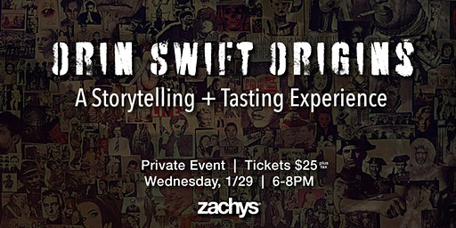Orin Swift Origins Tasting: Wine and Art Come to Life