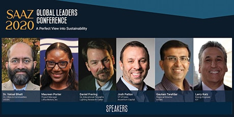 SAAZ 2020 Global Leaders Conference: A Perfect View into Sustainability tickets