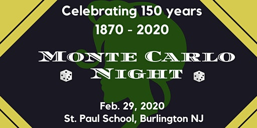 Saint Paul School Monte Carlo Night