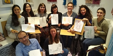 Life Art Class - Sip and Sketch entradas