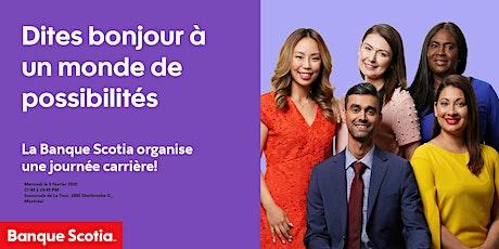 Soirée Carrière - Banque Scotia tickets