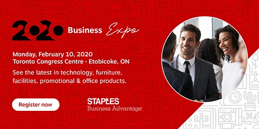 2020 Business Expo by Staples Business Advantage, Toronto