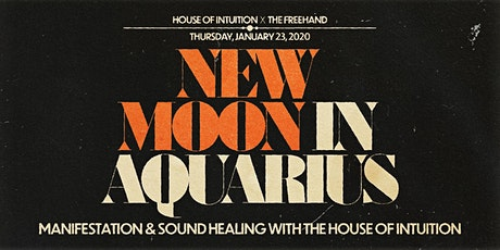 New Moon Rituals: Manifestation and Sound Healing With House Of Intuition tickets