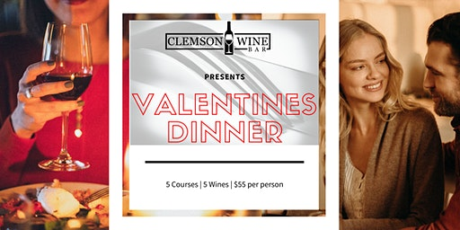 """Be My Valentine"" Wine Dinner"