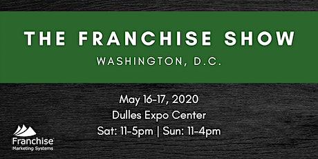 The Franchise Show: Washington, D.C. tickets