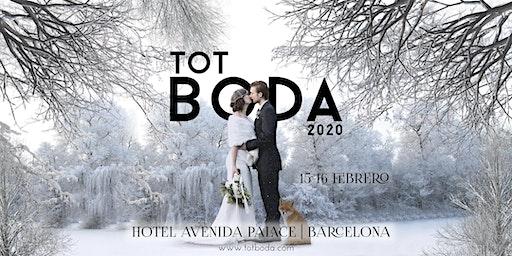 Tot Boda Barcelona: Sáb. 15 febrero de 11-20h y Dom. 16 febrero de 11-15h