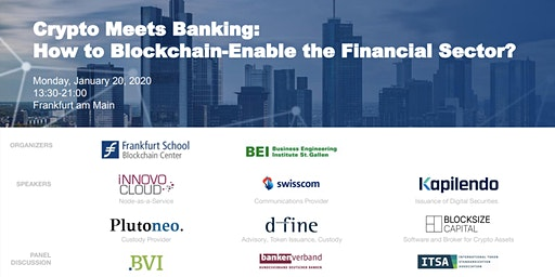 Crypto Meets Banking: How to Blockchain-Enable the Financial Sector?
