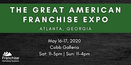 The Great American Franchise Expo: Atlanta, GA tickets