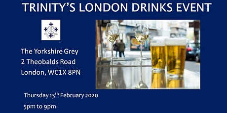Trinity Alumni London Drinks Event tickets