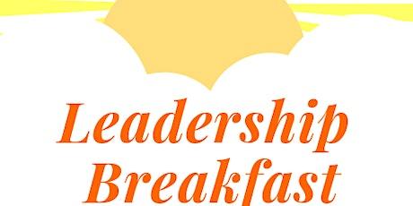Leadership Breakfast - 2020 Vision: Planning Beyond Borders tickets