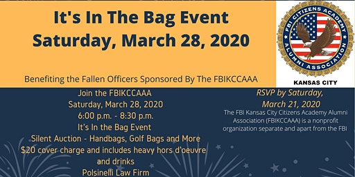 It's In The Bag (Sponsored by the FBIKCCAAA)
