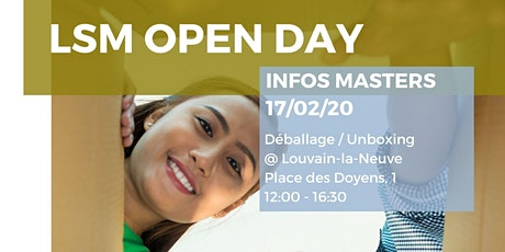 LSM Open Day - Louvain-la-Neuve tickets
