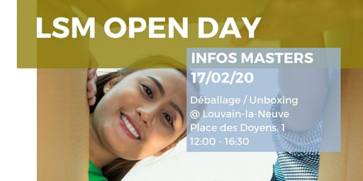 LSM Open Day - Louvain-la-Neuve
