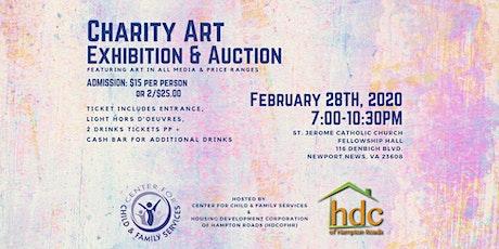 CCFS|HDC Charity Art Auction  tickets