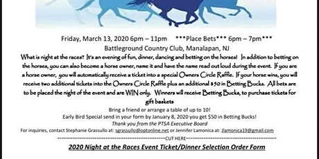 1st Annual Night at the Races tickets