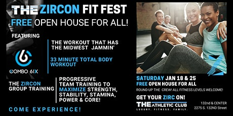 THE Zircon Fit Fest - THE Athletic Club 132nd & Center tickets