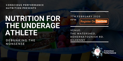 Nutrition for the underage athlete TALK