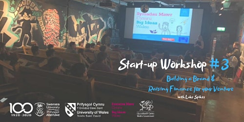 Start-up Workshop #3 - Building a Brand & Raising Finance for your Venture