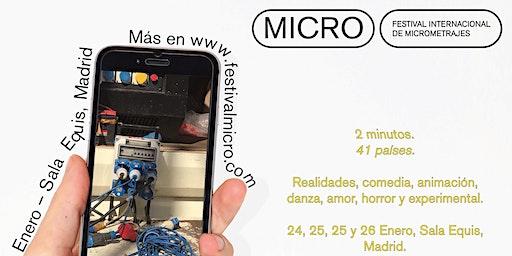 Festival Internacional de Micrometrajes - Estreno - Sala Equis