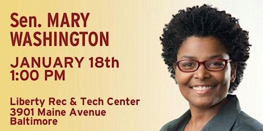 Public Safety Community Workshop Meeting with Sen. Mary Washington