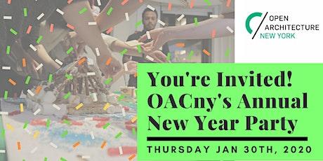 OACny's New Year Party 2020 tickets