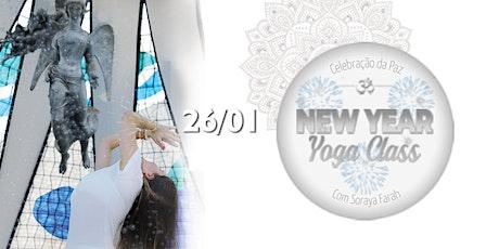 Yoga p/ o Ano Novo de Paz ingressos