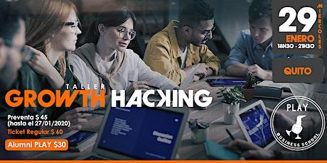 Taller de Growth Hacking entradas