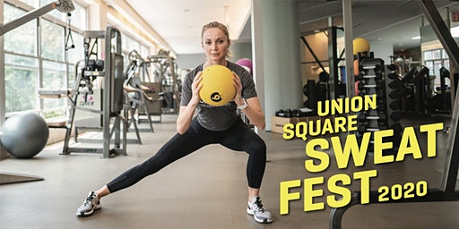 Union Square Sweat Fest: COMPLETE Recharge